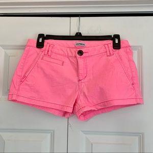 BUNDLE — Express Neon Pink & Orange Shorts